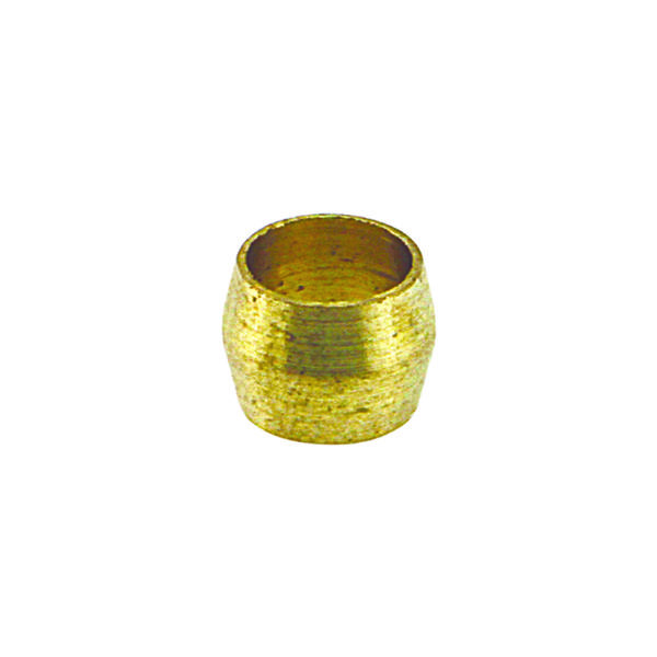 3/8in Brass Compression Type Olive
