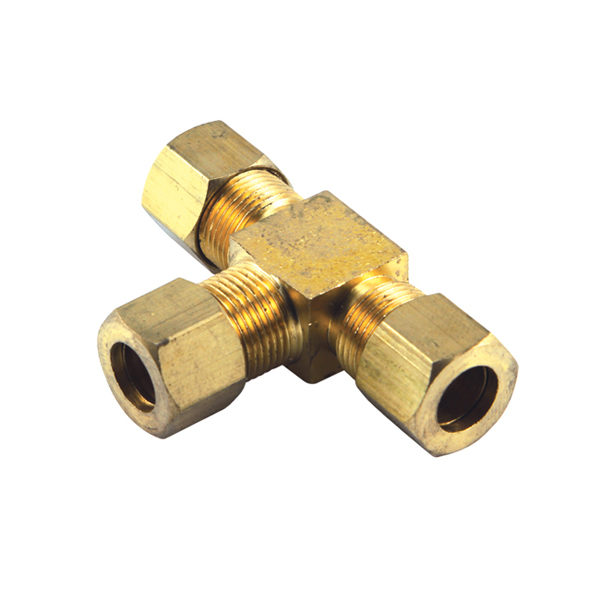 1/4in BSP Brass T-Union Connector (BP)