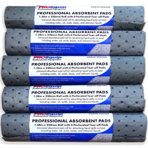 ProEquip Absorbent Clean-Up Sheets - 380mm x 230mm