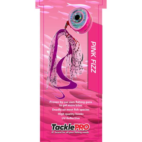 TacklePro Kabura Lure 240gm - Pink Fizz