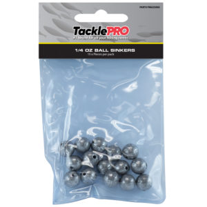 TacklePro Ball Sinker 1/4oz - 15pc