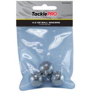 TacklePro Ball Sinker 4.0oz - 3pc