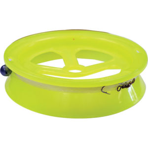 "TacklePro 8"" Hand Caster 100 Metre - Hi-Vis Yellow"