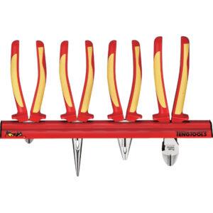 Teng 4pc 1000v VDE Plier Set W/Wall Rack