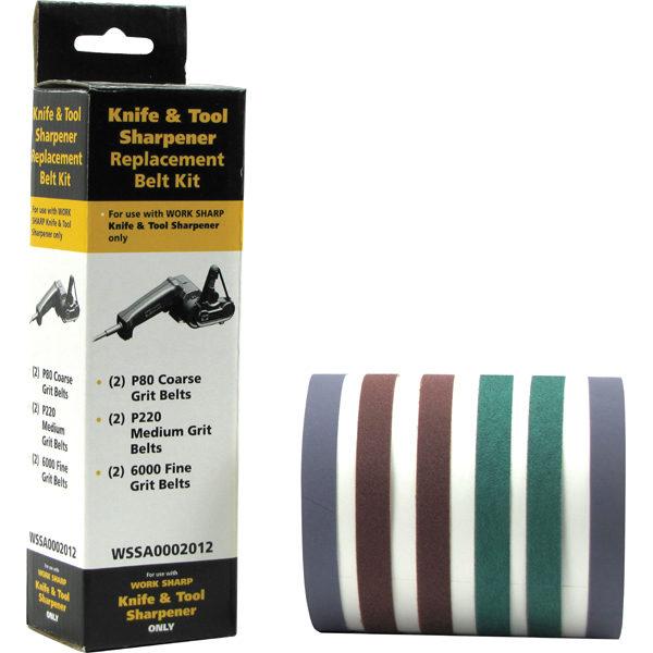 Worksharp 6pc Replacement Belt Pack for WSKTS