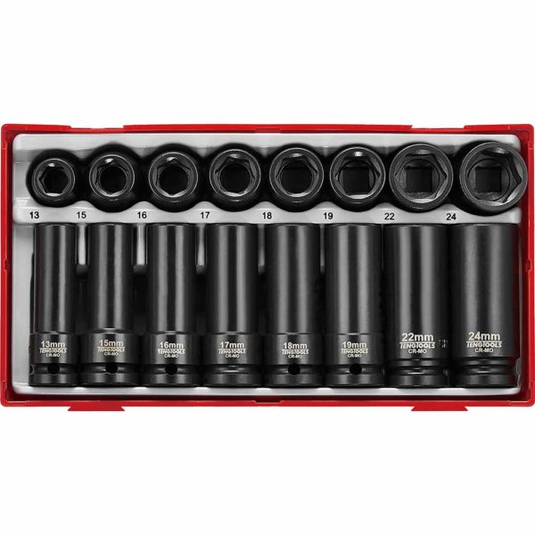 Teng 20Pc Impact Socket Set 1/2in Drive