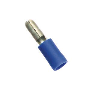 Blue Male Bullet Terminal-100Pk