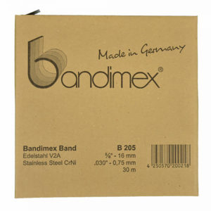 Bandimex B205 Band 5/8in x 30m (ea)