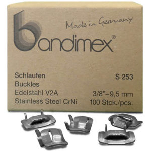 Bandimex S253 Buckles 3/8in (100pc)