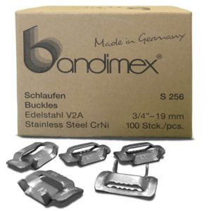 Bandimex S256 Buckles 3/4in (100 pc)