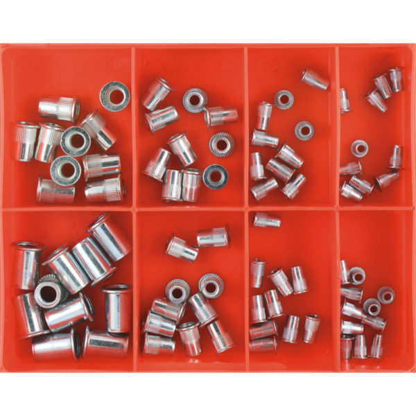 Champion 80pc Rivet Nut Insert Assortment (Aluminium)