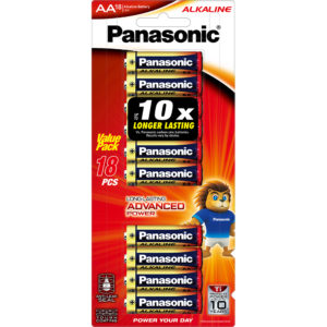 Panasonic AA Battery Alkaline (18pk)