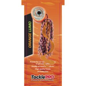 TacklePro Kabura Lure 240gm - Orange Lumo