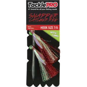 TacklePro Snapper Catcher Red & Lumo - 7/0