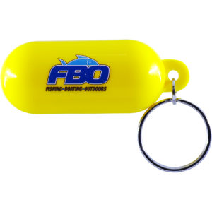 FBO Floating Key Chain - Yellow
