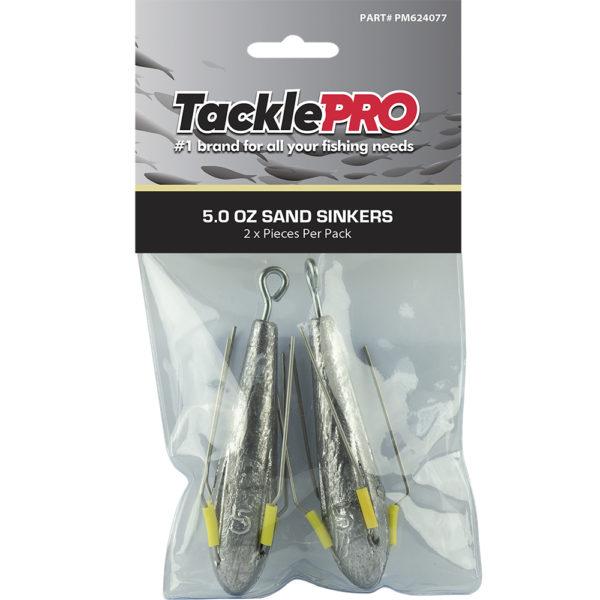 TacklePro Sand Sinker 5.0oz - 2pc