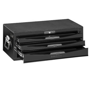 Teng 3-Dr. 8-Series Middle (Stacker) Tool Box (Black)