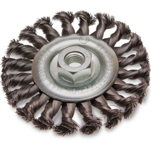 ITM Twist Knot Wheel Brush Steel 125mm