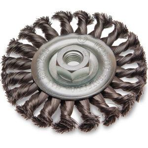 ITM Twist Knot Wheel Brush Steel 125mm