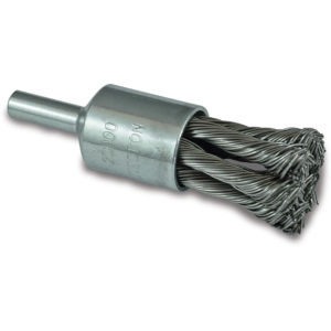 ITM Twist Knot End Brush Stainless Steel 25mm