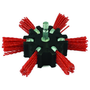ITM Nylon Spindle Mounted Flapper Wheel 100mm