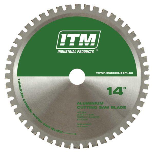 ITM 350mm TCT Aluminium Cutting Blade 100T