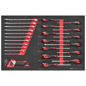 Teng 33pc Screwdriver-Spanner & Hex Key Set (EVA)