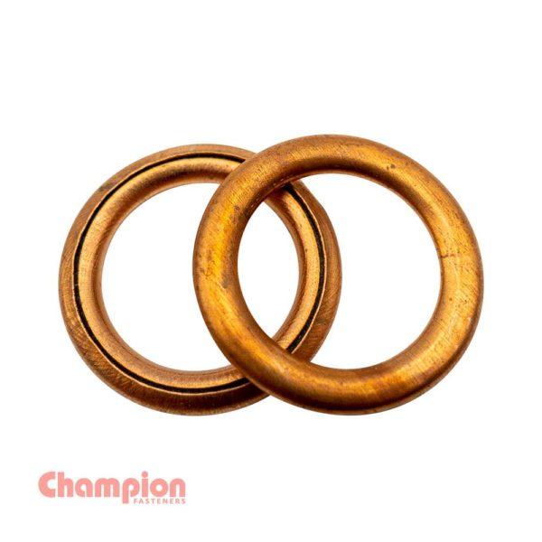 Champion 16 x 22 x 2mm Copper Sealing Washer
