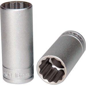 Teng 3/8in Dr. Deep Socket 16mm 12pt