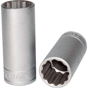 Teng 3/8in Dr. Deep Socket 17mm 12pt