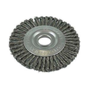 ITM Twist Knot Pipeline Wheel Brush Steel 178mm