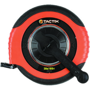TACTIX - MEASURING TAPE 100IN/30M X 15MM