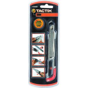 Tactix Knife Snap-off 9mm Zinc-Al Alloy Handle