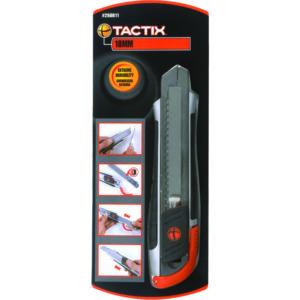 Tactix Knife Snap-off 18mm Zinc-Al Alloy