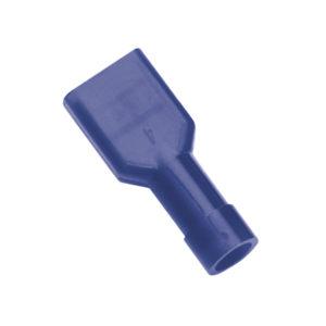 BLUE FEMALE INSULATED PUSH-ON SPADE TERMINAL
