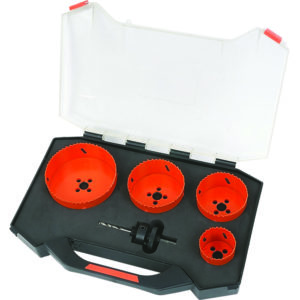 Tactix 5Pc Bi-Metal Hole Saw Set