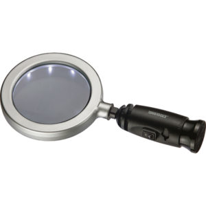 Teng 4in Handy Magnify w/ LED Light
