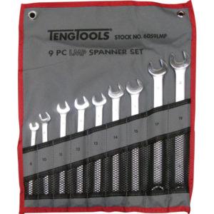 Teng 9pc LMP Combination Spanner Set 8-19mm w/Wallet