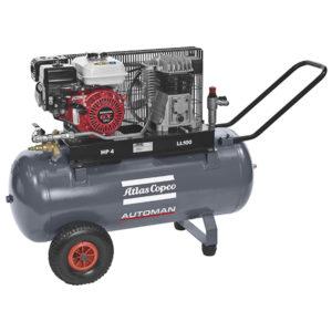 Atlas Copco Petrol 3.5HP 9.9cfm 100L Compressor