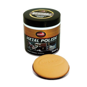 1035 AUTOSOL POLISH 265ml TUB WITH SCOURER SPONGE