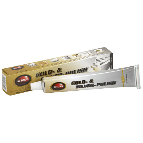 1053 AUTOSOL GOLD & SILVER POLISH 75ML TUBE