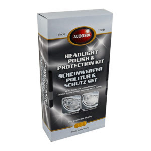 AUTOSOL HEADLIGHT PROTECTION CARE KIT 3PC