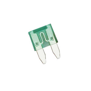 30Amp Mini Blade Fuse (Green)-15Pk