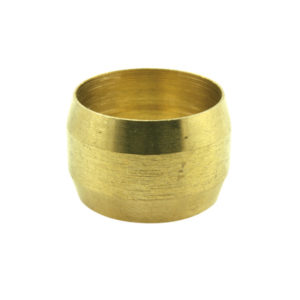 3/8in Brass Compression Type Olive-10Pk