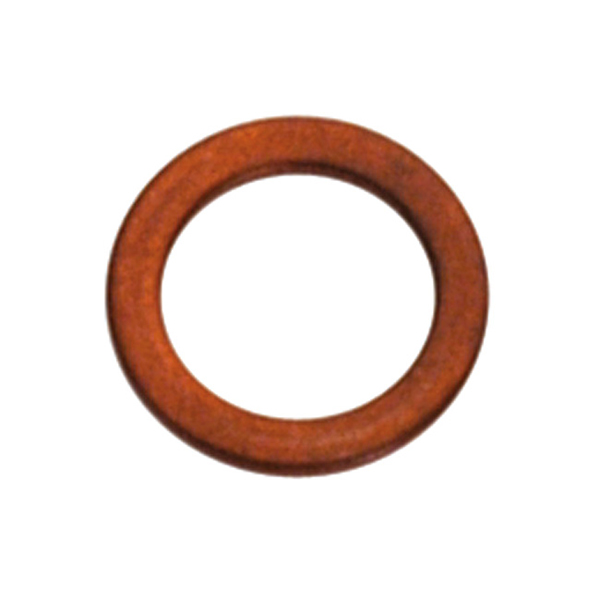M14 x 24mm x 1.0mm Copper Washer - 20pc