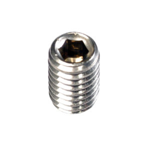 3/8in x 1in BSW Grub Screw 316/A4-10Pk