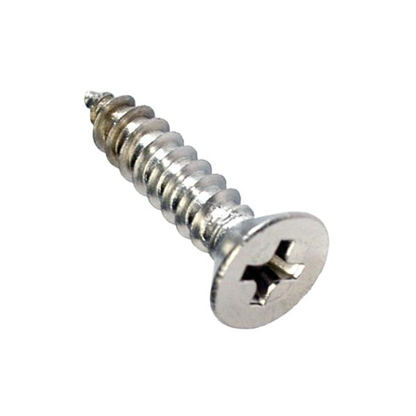 8G x 1-1/4in S/Tap Set Screw-C/Sunk 316/A4 (C)