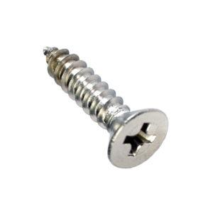 10G x 1-1/2in S/Tapp Set Screw-C/Sunk 316/A4 (C)