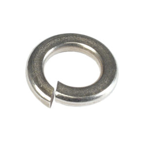 5/32in (M4) Stainless Spring Washer 304/A2-50Pk