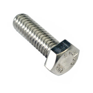 1/4in x 1in UNC Hex Set Screw 316/A4 (C)